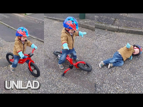 Kid Has Shocking Bicycle Accident | UNILAD