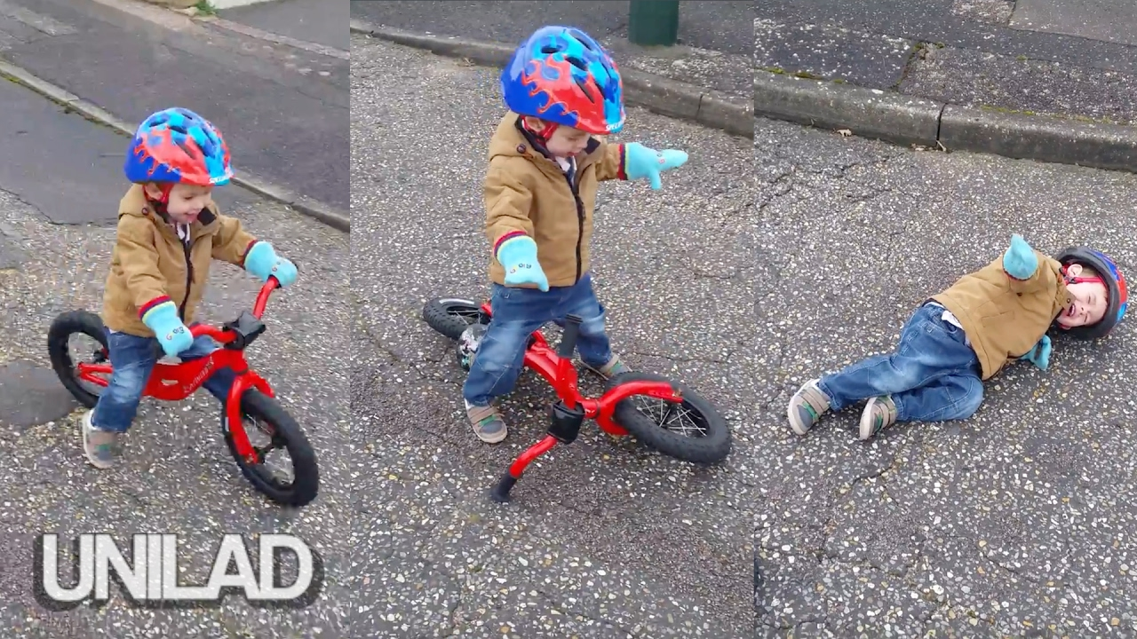 maxresdefault kid has shocking bicycle accident unilad youtube