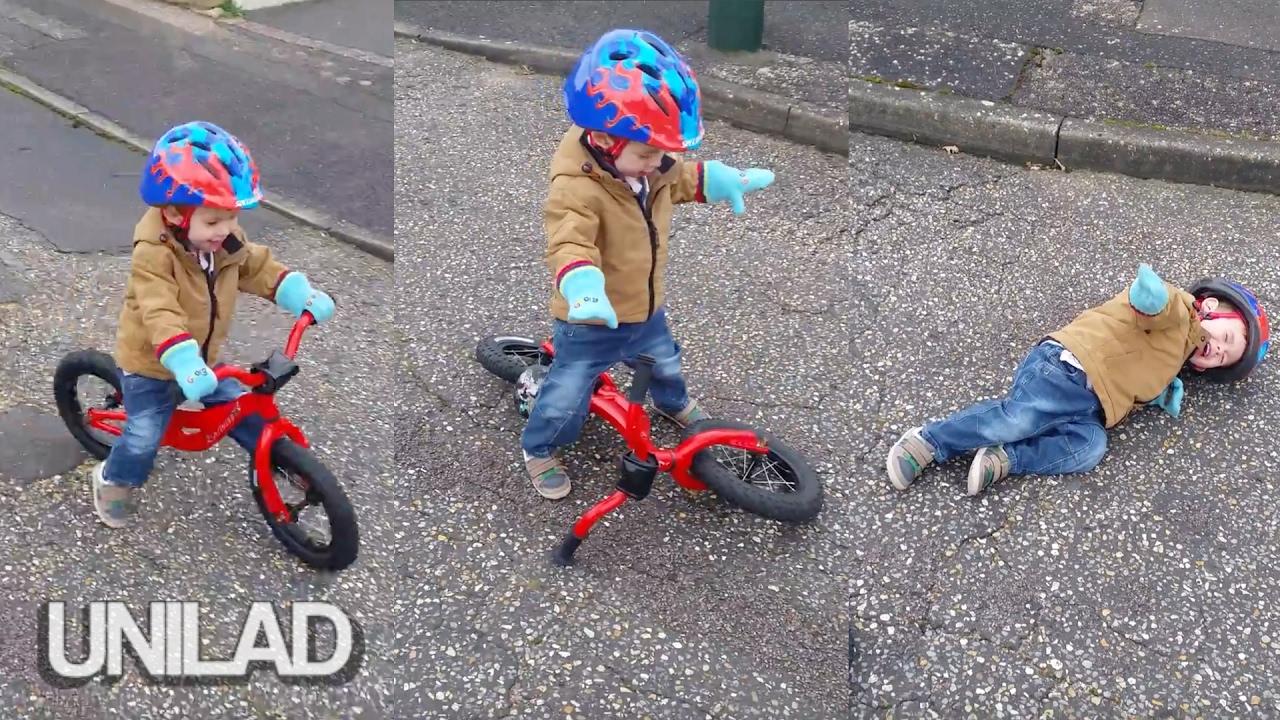Kid Has Shocking Bicycle Accident Unilad Youtube