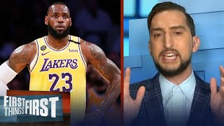 LeBron's Lakers should repeat, offseason moves will only help — Nick | NBA | FIRST THINGS FIRST