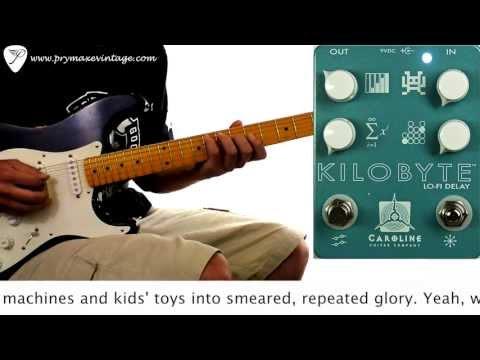 Caroline Guitar Company Kilobyte Lo-Fi Digital Delay