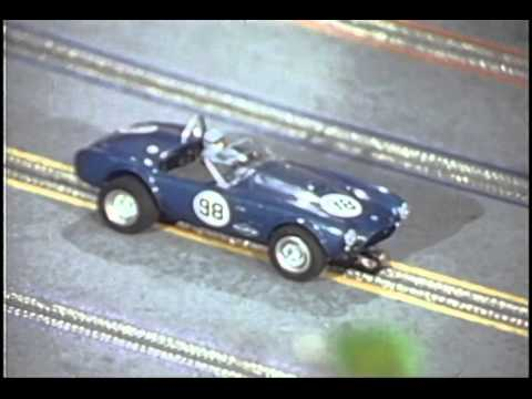 Shelby Cobra Slot Car Racing