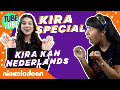 Kira Kosarin vs 🇳🇱 en  🇧🇪 snacks  Nickelodeon Special  Nickelodeon Nederlands