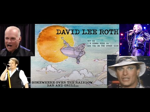 "David Lee Roth debuts unreleased titled ""Somewhere Over The Rainbow Bar And Grill"""