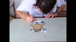 22hr Tiger Drawing in 8mins