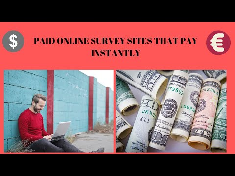Paid Online Survey Sites That Pay Instantly 2019