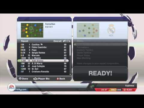 FIFA 13 -Team Management Ep. 4 - Real Madrid