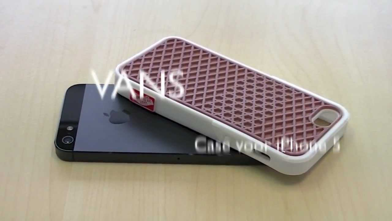 Vans Case iPhone 5 - YouTube