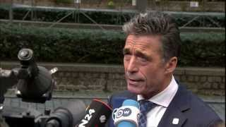 NATO Secretary General - Doorstep statement upon arrival at European Council