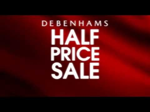 Debenhams SALE starts today - Up to 50% on the most desirable items