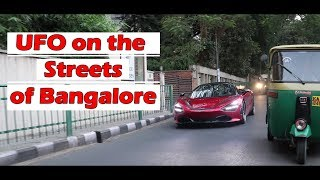 Mclaren 720S looks like an UFO on the streets of Bangalore #RSMSpec
