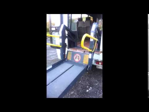 Ford Transit Bus Access Lift