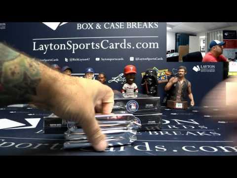 2017 Topps Museum Collection Baseball 6 Box Break #2 - Random Teams