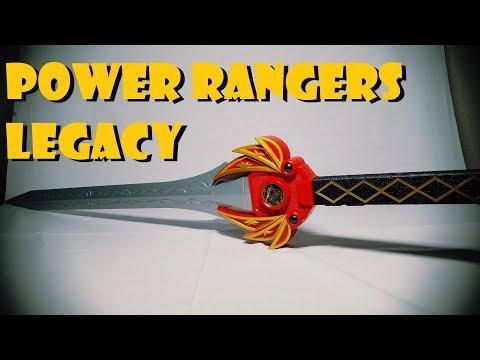 SHOKY REVIEWS: POWER RANGERS LEGACY RED RANGERS POWER SWORD