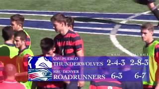 Men's Soccer vs CSU Pueblo - MSU Denver