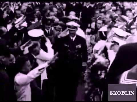 Staatsbegräbnis für Kapitän zur See Hans Wilhelm Langsdorff in Buenos Aires (1939)