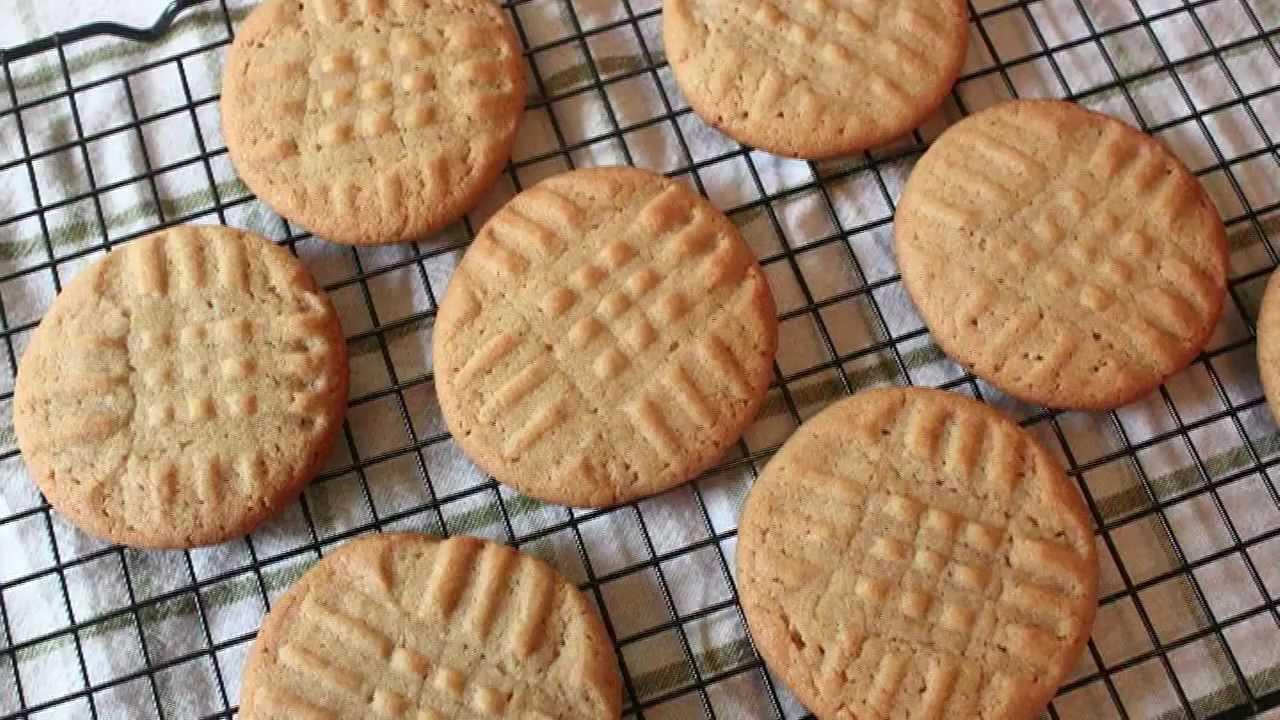 Classic Peanut Butter Cookies Recipe Youtube