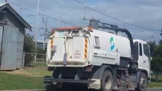 Road Sweeper, Road Vaccum Cleaner in Roads of towns in Victoria Australia