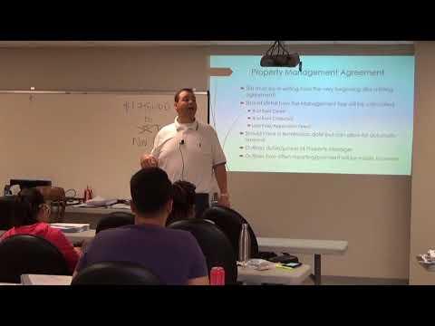Ch 12 Property Management Pt 1 Intro Through BTCF Formula