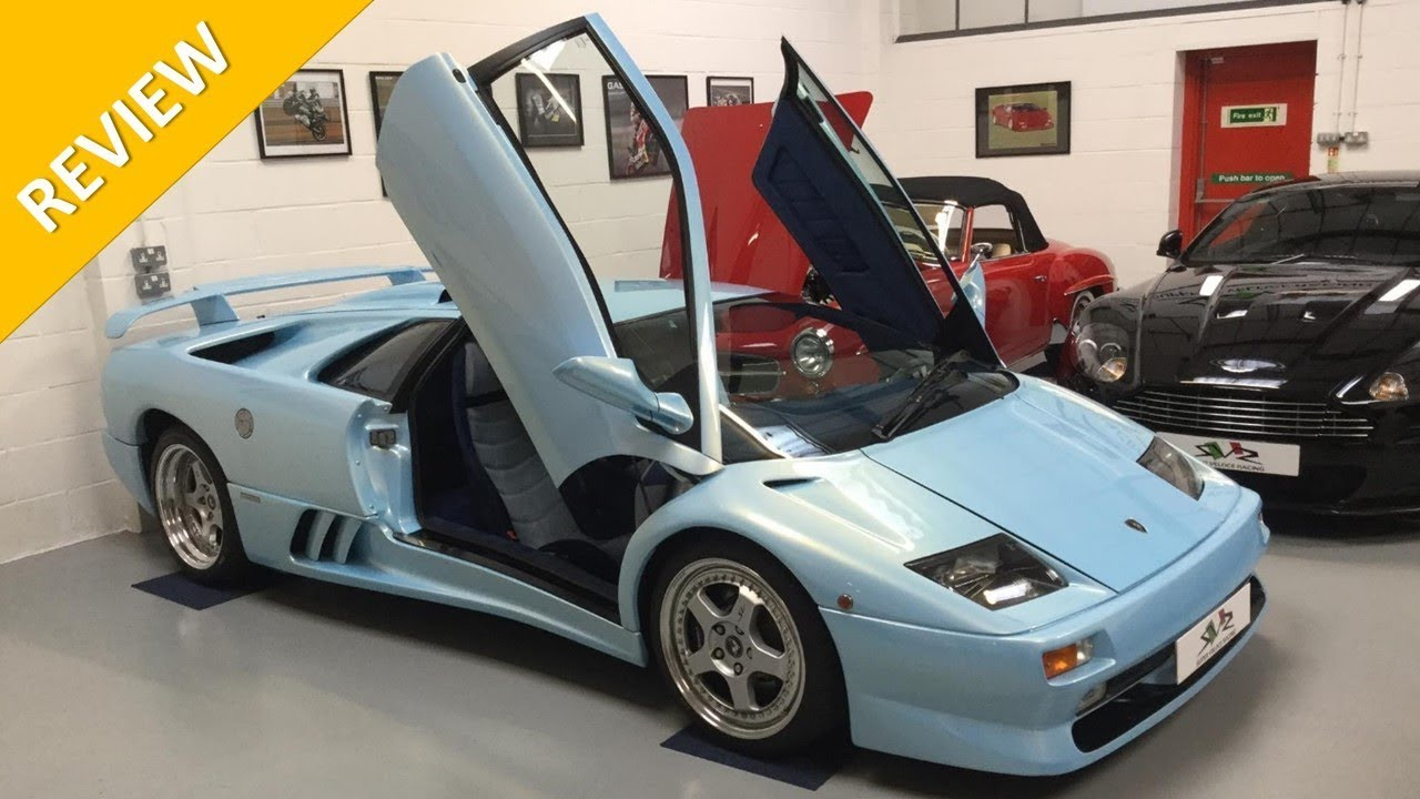 Lamborghini Diablo Sv A Classic Supercar From Svr As Featured On Topgear Website