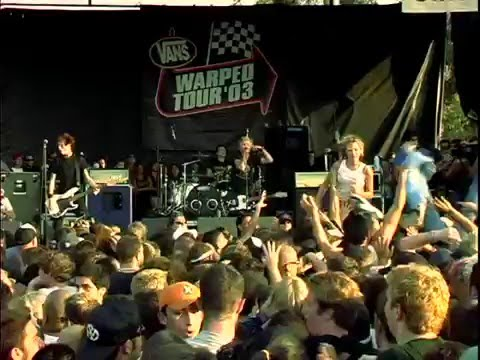 Sum 41 - Over my Head (Live at Warped Tour 2003)