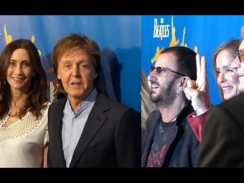 Paul McCartney and Ringo Starr attend 10th anniversary performance of LOVE