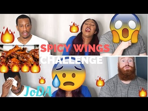 HOT ONES HOT SAUCE HOT WINGS CHALLENGE - JOE TAKES A TURN FOR THE WORSE!!!
