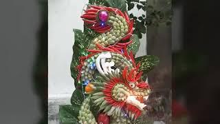 Cách làm tráp rồng cử động đẹp tại điện hoa Lily