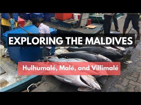 Exploring the Maldives: Hulhumalé, Malé andVillimalé