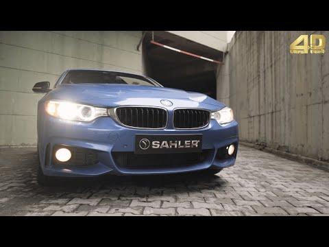 SAHLER Bmw F36 Grand Coupe 4 Serisi 2014-2019 Araca Özel Havuzlu 4.5D Paspas / Sahler Car Mat
