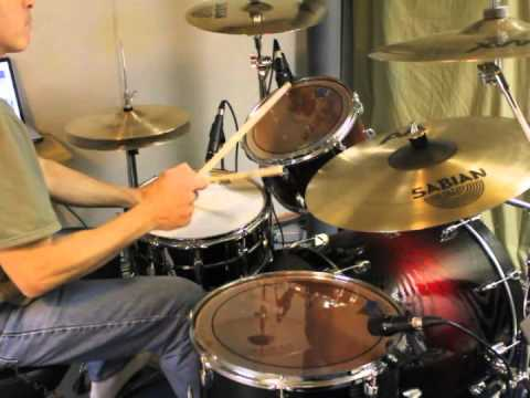 """Frank Sinatra """"Fly Me To The Moon"""" Drum Cover"""