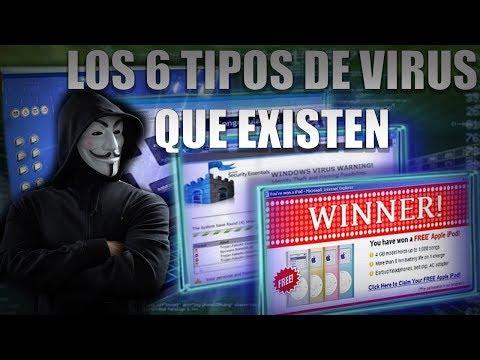 Los 6 tipos de virus (Malware) que existen