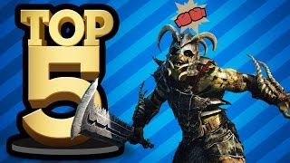 TOP 5 GAMES THAT NEED THE NEMESIS SYSTEM