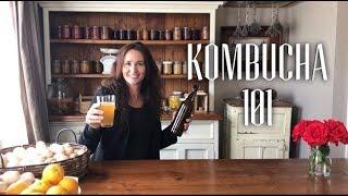 How to Make Kombucha from Start to Finish - STEP BY STEP KOMBUCHA MAKING