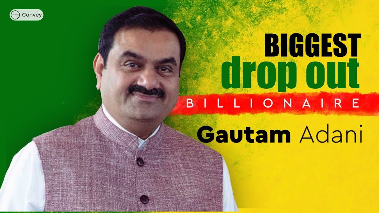 The Story of India's 3rd Richest Person: Gautam Adani