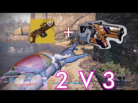 NLB + Fusion Rifle is bae | 2v3 Trials | MY NEW LONG FAR GONE