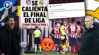 Grosses tensions entre le Real Madrid et l'Atlético | Revue de presse