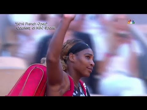 """Thiem Accuses Serena of """"Bad Personality"""" Following Her French Open Loss  The View"""