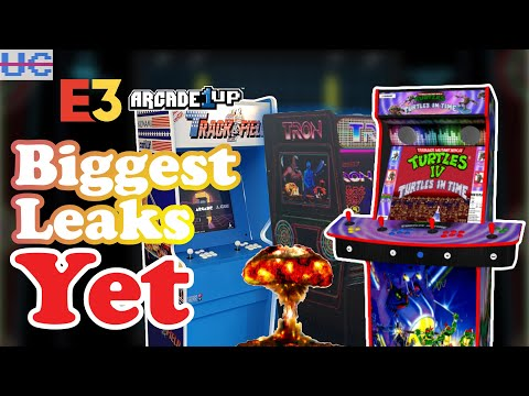 The BIGGEST Leaks Yet! Arcade1up FULL LINEUP REVEALED from Unqualified Critics