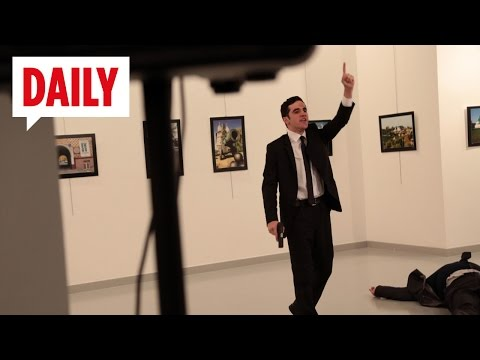 Russischer Botschafter erschossen - BILD DAILY Live 19.12.16