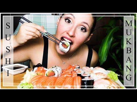 SUSHI MUKBANG EATING SHOW ITA #09 - MEGA MANGIATA PRIMA DELLA NUOVA DIETA!