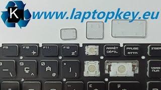 MSI LAPTOP KEYBOARD REPAIR GUIDE GF72 GS63 GE62 GL62 GV72 GS60 GP62 GS73 How to Install Fix keys DIY