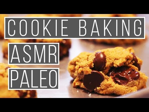 Fall Asleep Baking Chocolate Chip Cookies ASMR | Paleo | Whisper