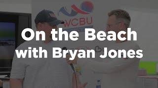 On the Beach with Team USA Men's Head Coach Bryan Jones #wcbu2017