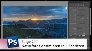 Naturfotos optimieren in 5 Schritten – Die Photoshop-Profis – Folge 211