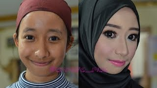 Make Over | Night Party Make up | Simple Smokey Eyes Tutorial