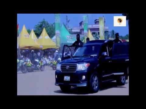 Nana Addo Dankwa Akufo Addo arrival in Ada for the Asafotufiami festival