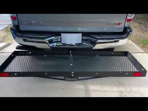 HITCH HAUL CARGO CARRIER ON MY TACOMA