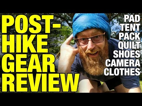 AT Post-Thruhike Gear Review