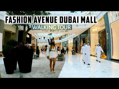 [4K] The Dubai Mall's Most Luxurious Fashion Avenue! A Walking Tour